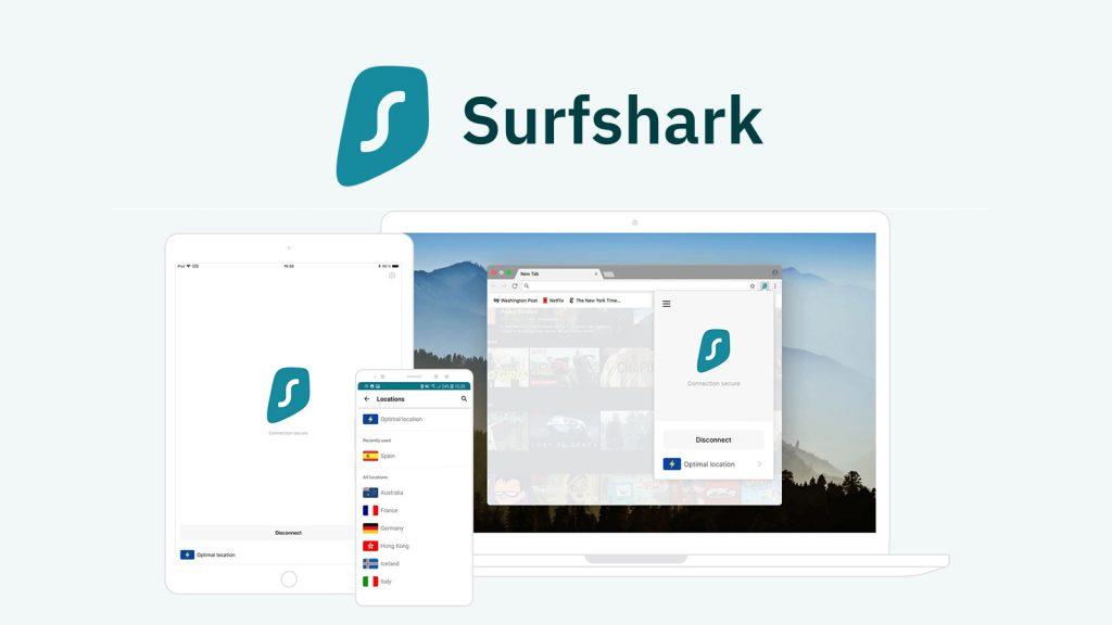 surfshark各種裝置使用